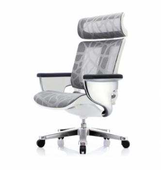 Кресло Kreslalux Nuvem Silver Mesh  Серый (ZB-1 Silver) фото-1