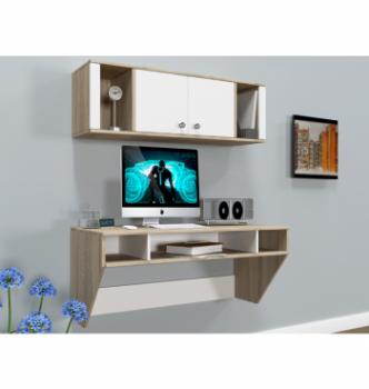 Стол навесной Comfy-Home AirTable-II Kit SW 110x52 Бежевый (Сонома) фото-2
