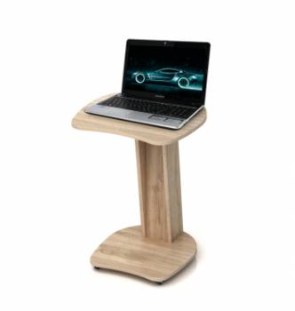 Столик для ноутбука Comfy-Home Sim 50x50 Коричневый (Орех лесной) фото-1