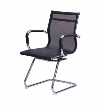 Кресло конференционное AMF Slim Net CF XH-633C Черный (Черная) фото-1