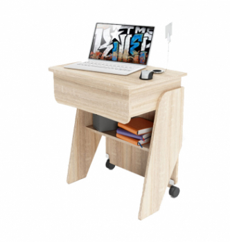 Стол для ноутбука Comfy-Home Kombi Z2 65x45 Бежевый (Сонома) фото-3