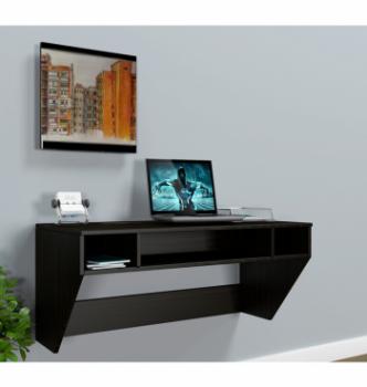 Стол навесной Comfy-Home AirTable-II DB Mini 110x52 Коричневый (Венге магия) фото-2
