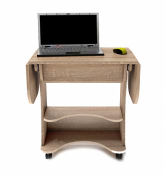 Стол для ноутбука Comfy-Home Kombi A3 67(120)x48(63) Коричневый (Орех лесной) фото-1