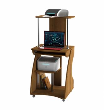 Стол для ноутбука Comfy-Home Davos-2 60x53 Коричневый (Орех лесной) фото-1