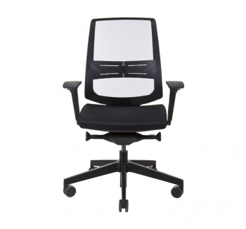 Кресло Kreslalux LIGHT UP NET Черный (Black) фото-2