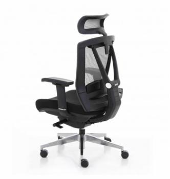 Кресло Kreslalux Ergo Chair 2 Black Черный (Чёрный/Чёрный) фото-3