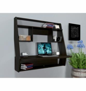 Стол навесной Comfy-Home AirTable-IІІ DB 100x50 Коричневый (Венге магия) фото-2