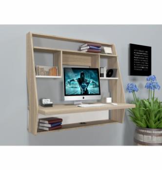 Стол навесной Comfy-Home AirTable-IІІ SW 100x50 Бежевый (Сонома) фото-2