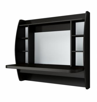 Стол навесной Comfy-Home AirTable-I DB 110x49 Коричневый (Венге магия) фото-1
