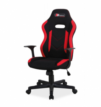 Кресло геймерское Signal Rapid Черный (Черный/Красный) фото-1