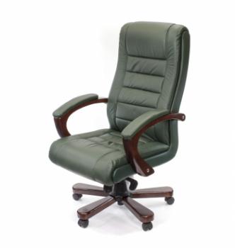 Кресло АКЛАС Гаспар ЕХ МB Зеленый (LC-green) photo-0
