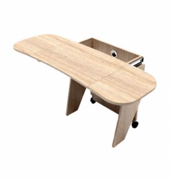 Стол для ноутбука Comfy-Home Kombi Z3 67(120)x48(63) Бежевый (Сонома) фото-2