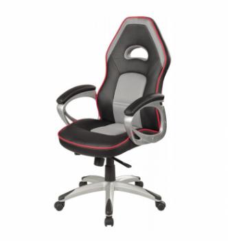 Кресло геймерское Signal Q-055 Серый (Черный/Серый) фото-1