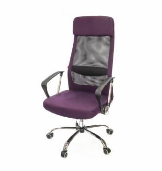 Кресло АКЛАС Гилмор FX СН TILT Фиолетовый (Фиолетовый/Черный) photo-0