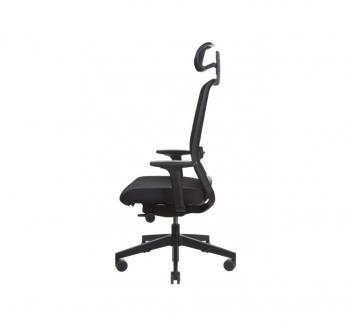 Кресло Kreslalux VERIS NET Черный (Чёрный Black) фото-3