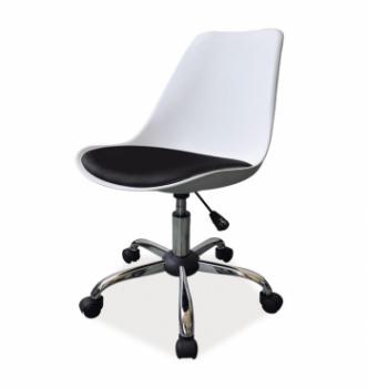 Кресло Signal Q-777 Черный (Белый /Черный ПУ) фото-1