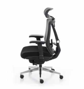 Кресло Kreslalux Ergo Chair 2 Black Черный (Чёрный/Чёрный) фото-2