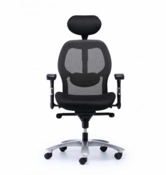 Кресло Kreslalux Eagle Seating Saturno HR Черный (Black Чёрный) фото-3