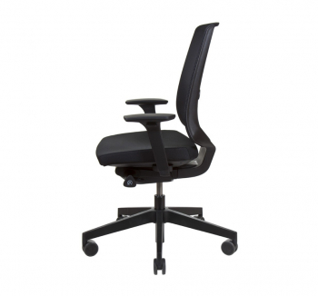 Кресло Kreslalux LIGHT UP NET Черный (Black) фото-3