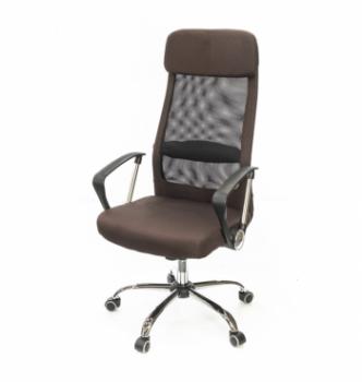 Кресло АКЛАС Гилмор FX СН TILT Коричневый (Коричневый/Черный) photo-0