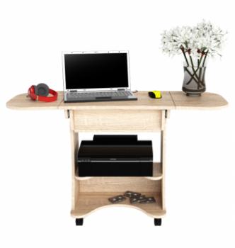 Стол для ноутбука Comfy-Home Kombi A3 67(120)x48(63) Коричневый (Орех лесной) фото-4