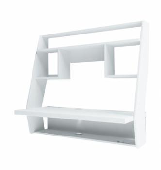 Стол навесной Comfy-Home AirTable-IІІ WT 100x50 Белый (Белый) фото-1
