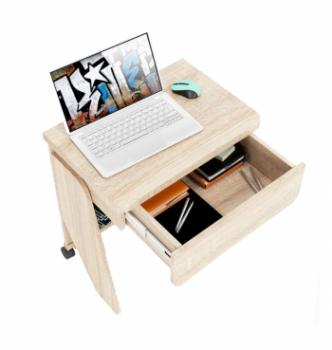 Стол для ноутбука Comfy-Home Kombi Z2 65x45 Бежевый (Сонома) фото-5