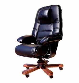 Кресло Primteks Plus Status Extra Черный (LE-A/K 1.031) фото-1