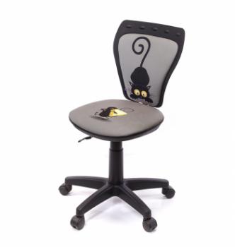 Кресло детское Новый Стиль Ministyle GTS PL55 Принтовый (Mouse grey) photo-0