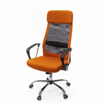 Кресло АКЛАС Гилмор FX СН TILT Оранжевый (Оранжевый/Черный) photo-0