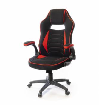 Кресло геймерское АКЛАС Орсон PL TILT Черный (Черный/Красный) photo-0