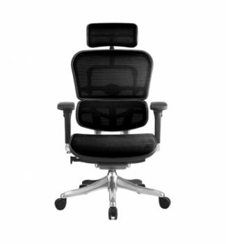 Кресло Kreslalux Ergohuman Plus Mesh AB-HAM Черный (KMD-31 Black) фото-3