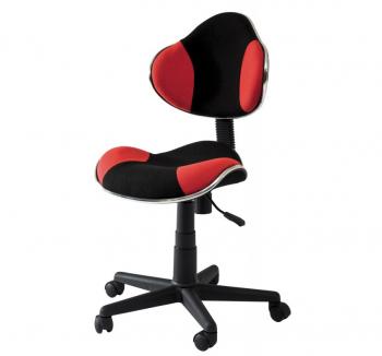 Кресло детское Signal Q-G2 Черный (Черный/Красный) фото-1