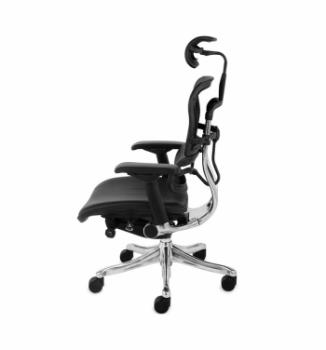 Кресло Kreslalux Ergohuman Plus AB-HAL Черный (Black) фото-2