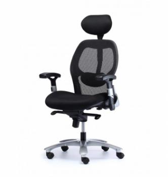 Кресло Kreslalux Eagle Seating Saturno HR Черный (Black Чёрный) фото-1