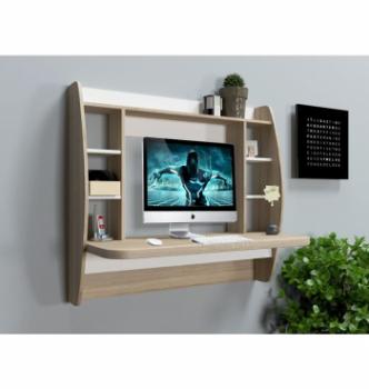Стол навесной Comfy-Home AirTable-I WT AT-1SW 110x49 Бежевый (Сонома) фото-2
