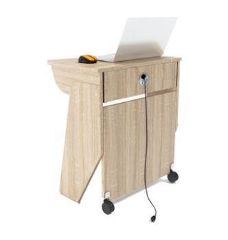 Стол для ноутбука Comfy-Home Kombi Z1 65x45 Серый (Алюминий) фото-4