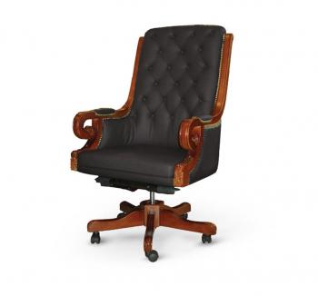 Кресло Диал Роял Черный (Черный Орех) фото-1