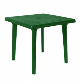 Стол Алеана Квадратный 80x80 Зеленый (Зеленый) photo-0